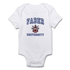 FABER University Infant Bodysuit
