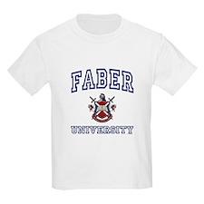 FABER University Kids T-Shirt