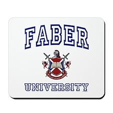 FABER University Mousepad