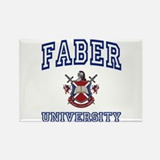 FABER University Rectangle Magnet