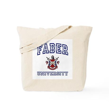 FABER University Tote Bag