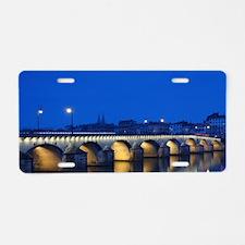 Saone-et-Loire Department Aluminum License Plate