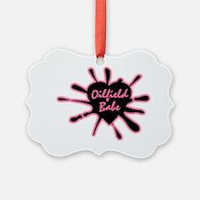 Logooilfieldbabe Ornament