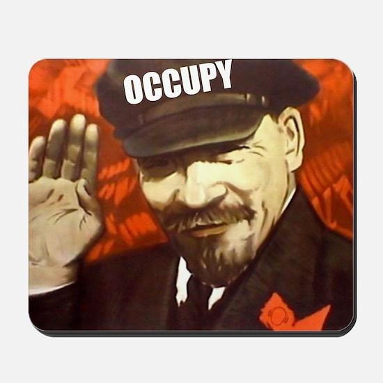 lenin_occupy Mousepad