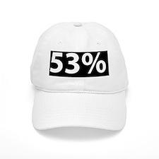 53% Baseball Cap