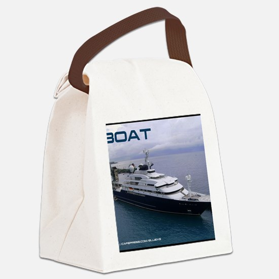 boat cover Canvas Lunch Bag