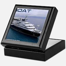 boat cover Keepsake Box