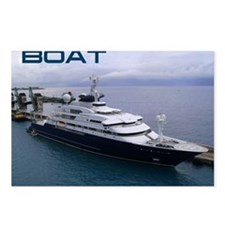 boat cover Postcards (Package of 8)