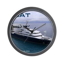 boat cover Wall Clock