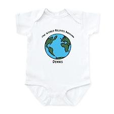 Revolves around Dennis Infant Bodysuit