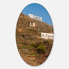 Signs saying Cote Rotie E Guigal M  Decal