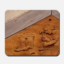 Medieval shoe makers sign, Wertheim, Bad Mousepad