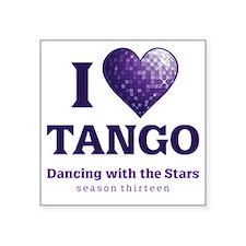 HeartTango Square Sticker 3