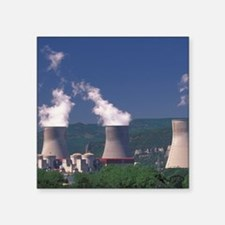 "Pierrelatte. Nuclear reacto Square Sticker 3"" x 3"""