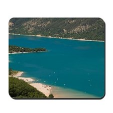 Lake Sainte Croix, Provence, France. Mousepad