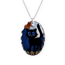 LargePoster Trick or Treat Bla Necklace