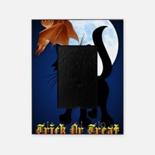 LargePoster Trick or Treat Black Kit Picture Frame