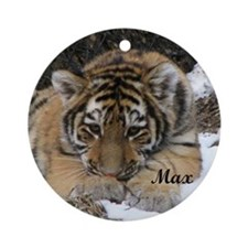 max tile Round Ornament