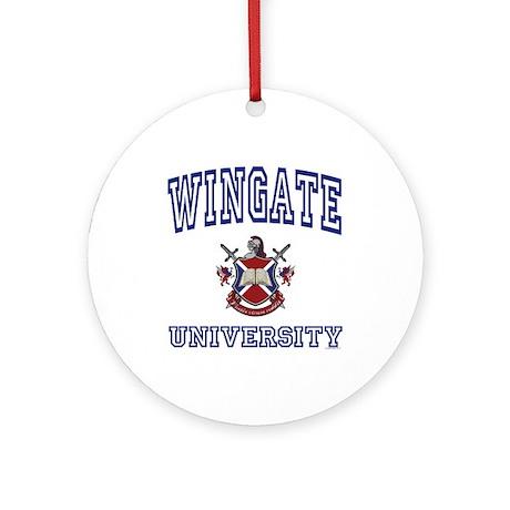 WINGATE University Ornament (Round)
