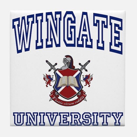 WINGATE University Tile Coaster