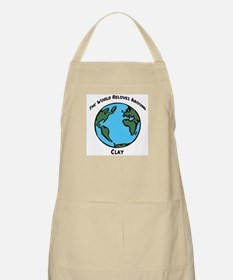 Revolves around Clay BBQ Apron