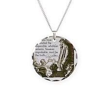 sherlockquote_truthsmalls Necklace