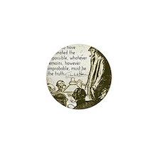 sherlockquote_truthwhite Mini Button