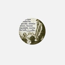 sherlockquote_truthwhite Mini Button