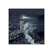 "Lighthouse Square Sticker 3"" x 3"""