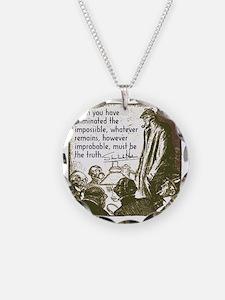 sherlockquote_truth Necklace