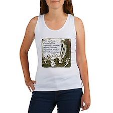 sherlockquote_truth Women's Tank Top