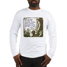 sherlockquote_truth Long Sleeve T-Shirt