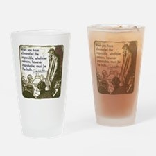 sherlockquote_truth Drinking Glass