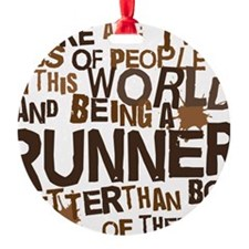 runner_brown Ornament