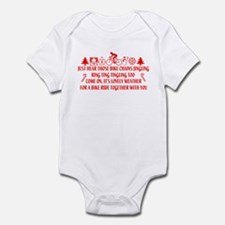 Christmas Humor Infant Bodysuit