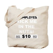 KICK-FOR-BLACK Tote Bag