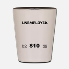 KICK-FOR-BLACK Shot Glass