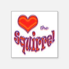 """heart.gif Square Sticker 3"""" x 3"""""""