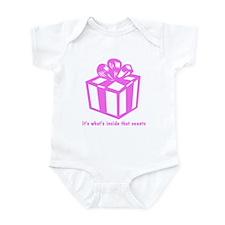 Gift Box - Pink Infant Bodysuit