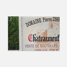 Sign to Domaine Pierre Usseglio.  Rectangle Magnet
