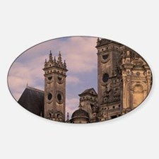 Architectural detailsley, Loir, et, Sticker (Oval)