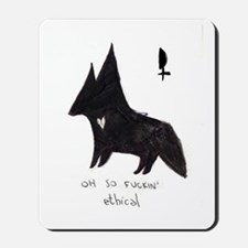 fox ethical lilith Mousepad