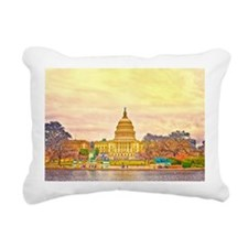 postcard Rectangular Canvas Pillow