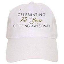 Celebrating 75 Years Awesome Baseball Cap