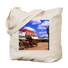 Tombstone Street Tote Bag