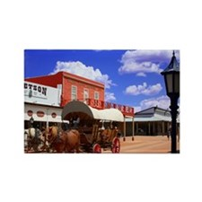 Tombstone Street Rectangle Magnet