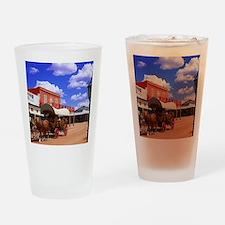 Tombstone Street Drinking Glass