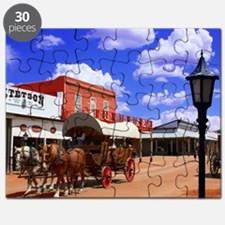 Tombstone Street Puzzle