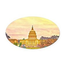 poster small Oval Car Magnet
