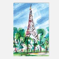 AWP_CafePress_TourEiffel_ Postcards (Package of 8)